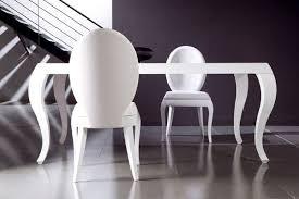 chaises de salle à manger design superbe chaises salle manger blanches chaise couleur design ovale