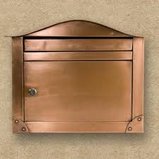 Bronze Wall Mount Mailbox What Is The Standard Size Bronze Mailboxes U2014 Home Design