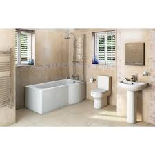orchard oakley bathroom suite with right handed p shaped shower free delivery oakley bathroom suite with evesham 1700 x 850 shower bath rh