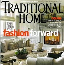 House And Home Magazine by Judith March Traditional Homes Magazine Features Designer