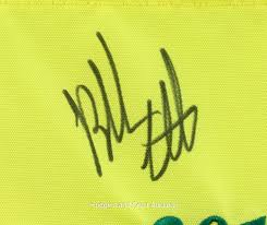 Masters Flag Bubba Watson Autographed 2012 Masters Tournament Flag