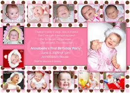 doc 600420 birthday invitation sample u2013 first birthday