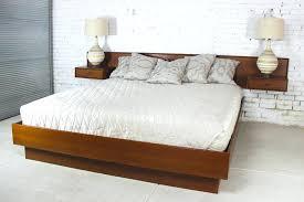 Vintage King Bed Frame Platform Bed Frame King Size Comfortable California King Platform