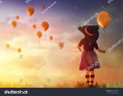 happy halloween cute images happy halloween cute little witch air stock photo 488693077