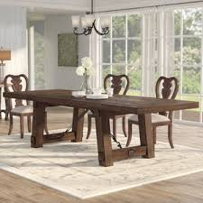 Extendable Kitchen  Dining Tables Youll Love Wayfair - Extendable dining room table