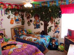 love this dora and diego jungle room for kaylee and hunter home