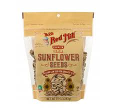 premium shelled sunflower seeds bob u0027s red mill natural foods