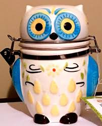 Owl Kitchen Canisters