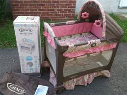 Pink And Brown Graco Pack N Play With Changing Table Awesome Pink And Brown Graco Pack N Play With Changing Table Rs