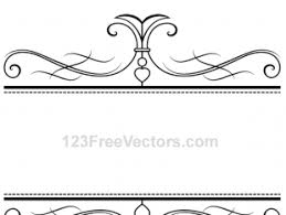 calligraphy ornamental frame vector graphics free vectors ui