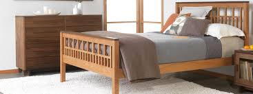 handmade solid wood beds natural cherry maple walnut oak