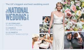 wedding show national wedding show london groupon