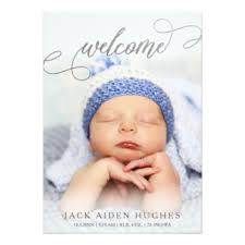 birth announcement cards greeting photo cards zazzle