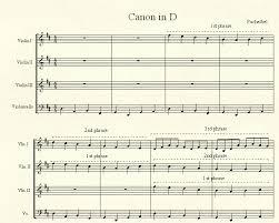 tutorial piano canon canon in d free piano sheet music