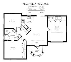 Guest Cottage Floor Plans Apartments Guest House With Garage Plans Bedroom Bath Ranch