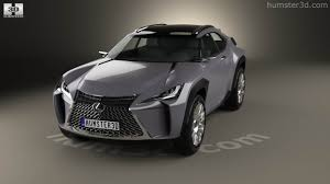 lexus ux concept 360 view of lexus ux 2016 3d model hum3d store