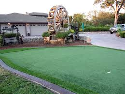 Small Backyard Putting Green Artificial Turf Lake Mohawk Ohio Landscape Ideas Backyard Makeover