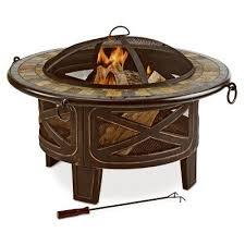 slate fire pit table four seasons courtyard slate fire pit table ftb 51559