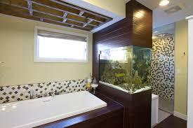 moroccan cross teak industrial bathroom handmade ceramic tiles