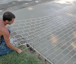 improve your outcome when using concrete stencils concrete decor