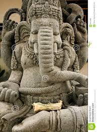 God Statue Ganesh Elephant Headed God Statue Stock Images Image 3815884