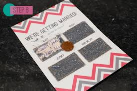 Cool Wedding Invitations Diy Creative Wedding Invitations For The Crafty Couple