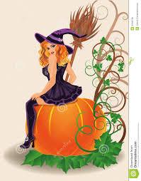 happy halloween clipart free happy halloween witch and pumpkin royalty free stock images