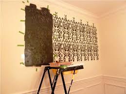wall stencils on focal walls jen joes design image of wall mural stencils