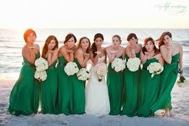 green bridesmaid dresses top 6 fall wedding color combinations bridesmaid dresses trends