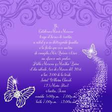 quinceanera invitation wording bling butterflies quince invitation