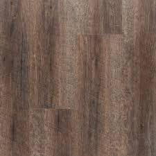 Floor And More Decor Nucore Ashen Oak Hand Scraped Plank With Cork Back 6 5mm