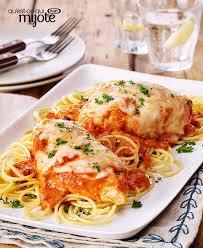 cuisine vite fait poulet parmesan aux tomates et au basilic vite fait recette