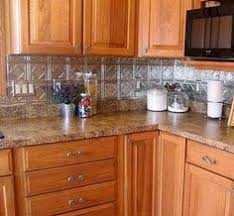 Kitchen Backsplash Examples  Photos Of The How To Apply Faux - Punched tin backsplash