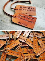 themed luggage tags personalized leather luggage tags a great useful wedding favor