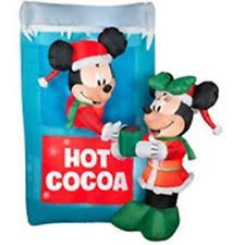 Disney Easter Outdoor Decorations by Minnie Mouse 6 Ft Xmas Inflatable New In Box Christmas