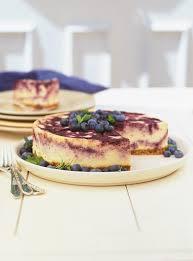 cuisine ricardo recette de ricardo de gâteau au fromage marbré aux bleuets ce