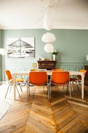 ideal home interiors vibrant orange accents via the socialite family my ideal home
