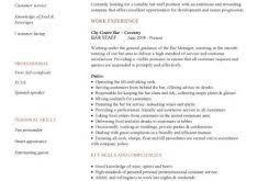 interesting hospitality resume 4 hospitality cv templates free