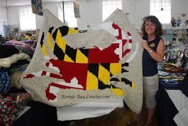Bonnie Flag Bonnie Bay Crochet Blog Celebrating Crochet At The Montgomery