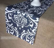 Navy Blue Table Runner Nautical Table Runner Ebay