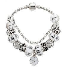 black bead charm bracelet images Black charm bracelet mystik charms jpg