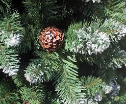 sapin de noel artificiel plus vrai que nature 210 cm arbre sapin de noël artificiel avec de la neige et de