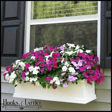 self watering window boxes u0026 flower boxes hooks u0026 lattice
