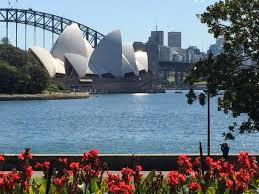 Botanic Garden Sydney View From The Botanical Gardens The Opera House Picture Of The