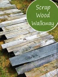 best 25 wood walkway ideas on pallet path wood
