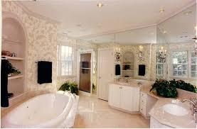 master bathroom idea bathroom large master bathroom ideas with floral wallpaper the