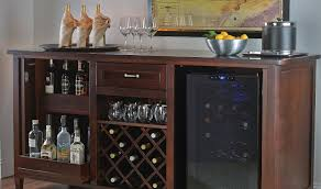 refrigerator kitchen cabinet bar appealing kitchen wine bars brown wooden hutch kitchen