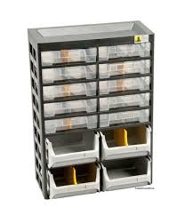 storage cabinet unit organizer box with drawers and bins workshop
