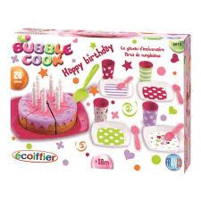cuisine ecoiffier 18 mois ecoiffier gâteau d anniversaire achat vente dinette cuisine