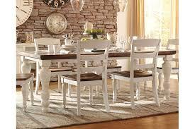 trendy dining room tables marsilona dining room table ashley furniture homestore amazing